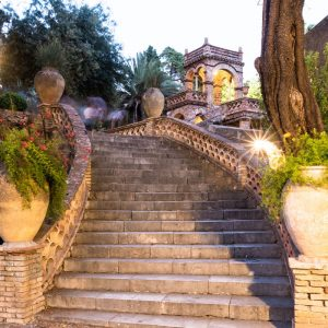 Taormina Virtual tour Villa Comunale